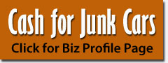 Junk car buyers in Greenville NC, Raleigh, Rocky Mount areas
