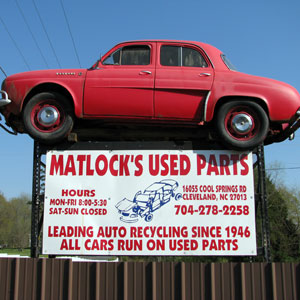 Local Junk Car Buyers in Cleveland, Claremont NC